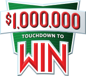 $1,000,000 touchdown to win