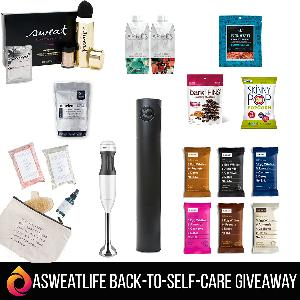 $1,000 Back-to-Self-Care prize package