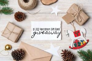 $1,000 Nordstrom Gift Card