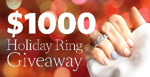 $1,000 Ring Christmas Giveaway