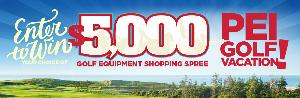 $1,250 Golf Equipment Shopping Spree
