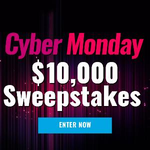 $10,000 Cash Cyber Monday Giveaway!