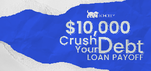 $10,000 Crush your Debt loan payoff