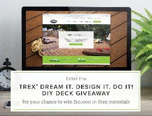 $10,000 In Trex Materials Giveaway
