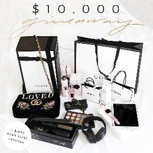 $10,000 worth of Electronics, Gift Cards, Fashion & Beauty Products