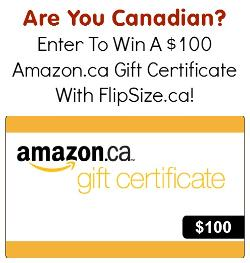 $100 Amazon.ca Gift Card - Canada Only