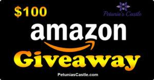 $100 Amazon Gift Card Giveaway