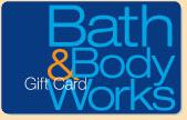 $100 Bath and Body Works Gift Card