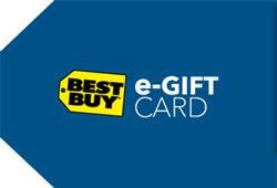 $100 Best Buy e-Gift Card Sweepstakes