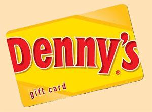 $100 Denny's Gift Card