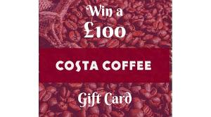 £100 gift card for Costa Coffee