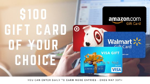 $100 Gift Card of Your Choice