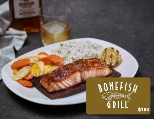 $100 Gift Card to Bonefish Grill Giveaway!
