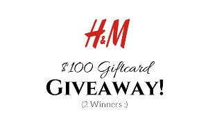$100 H&M Gift Card Giveaway