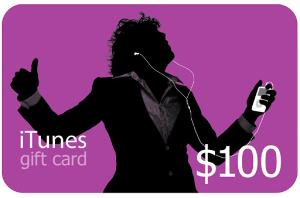 $100 Itunes Gift Card Giveaway