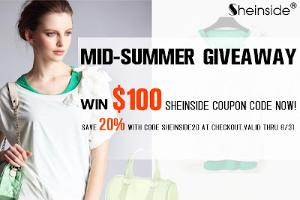 $100 SheInside Coupon Code