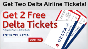 $1000 Delta Airline Tickets Giveaway