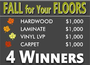 $1000 Vouchers for Great Floors