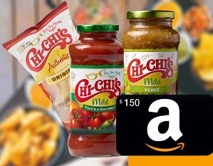 $150 Amazon Gift Card + Chi-Chi's Salsa & Chips Giveaway!