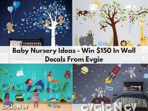 $150 EvgieNev Gift Card Wall Decal Giveaway image