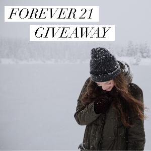 $150 Forever 21 Gift Card Giveaway