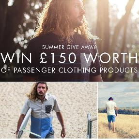 £150 of Passenger Clothing Products