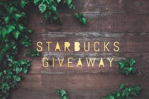 $150 Starbucks Gift Card Giveaway