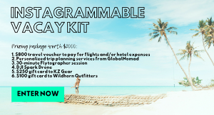 $2,000 Instagrammable Vacation Kit