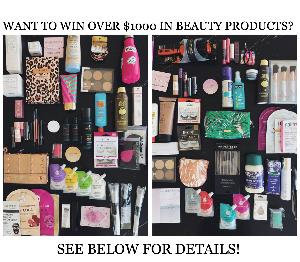 $2,000 worth of Beauty Products