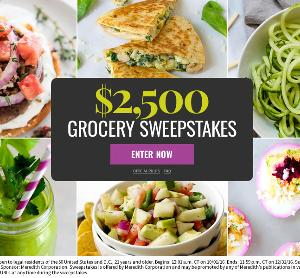 $2,500 Grocery Sweepstakes!
