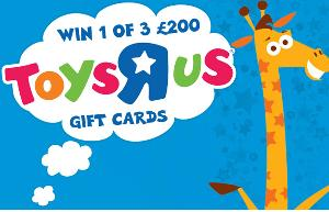 £200 Gift Cards to spend at Toys 'R' Us