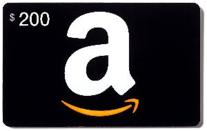 $200 in Amazon Gift Cards