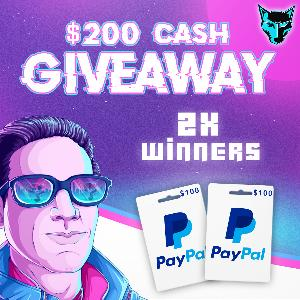 $200 PayPal Cash - 2 Winners!!