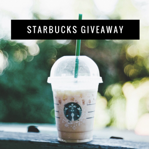 $200 Starbucks Gift Card!