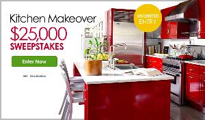contest kitchen makeover 25 000 sweepstakes