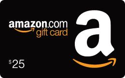 $25 Amazon Gift Card - 2 Winners