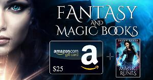 $25 Amazon gift card and ebook copy of MAGIC RUNES