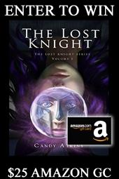 $25 Amazon Gift Card + eBook from Candy Atkins