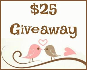 $25 Giveaway