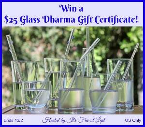 $25 Glass Dharma Gift Certificate Giveaway