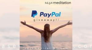 $25 PayPal Cash Giveaway + Free Meditations!