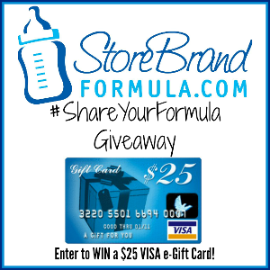 $25 VISA GC from Store Brand Formula