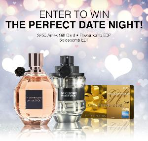 $250 Amex Gift Card + His & Hers Viktor & Rolf Fragrances