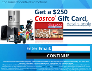 $250 Costco Gift Card!