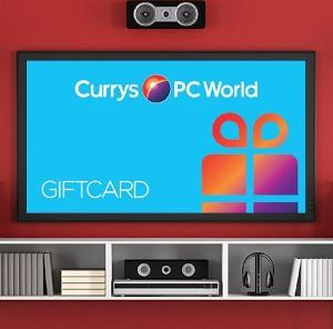 £250 Currys PC World gift card Giveaway!