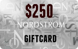 $250 Nordstrom Gift Card