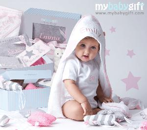 $250 Personalized Luxury Baby Gift Set