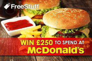 £250 to spend at McDonald's