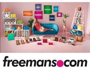 £250 vouchers to spend at Freemans online Giveaway!