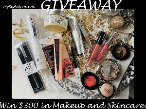 $300 Makeup and Skincare